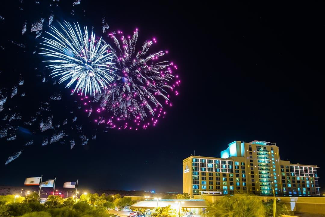 At 9 p.m. Agua Caliente Casino, Resort & Spa will have an Independence Day fireworks show.