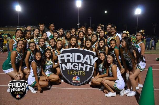 Mighty Arabs Cheerleaders LOVE Friday Night Lights!