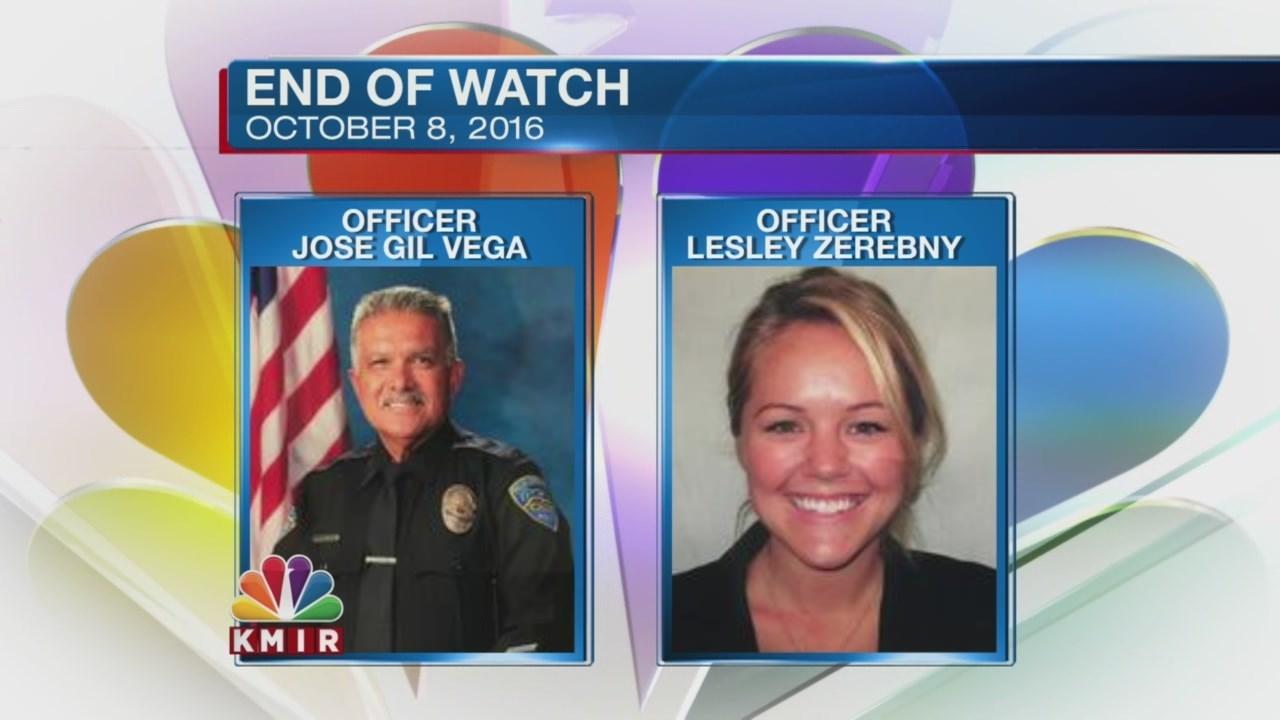 Officer Jose Gilbert Vega and Officer Lesley Zerebny