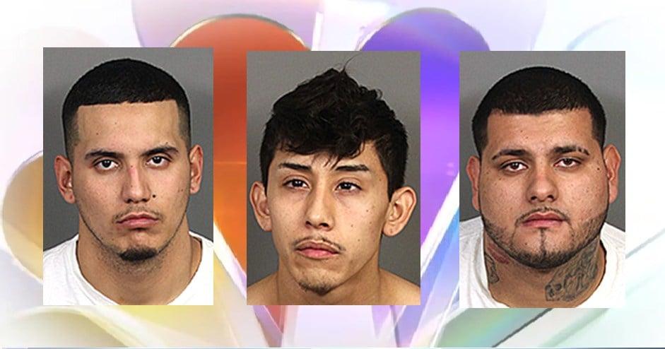 Roger Rodriguez, Anthony Garcia, Alejandro Zendejas