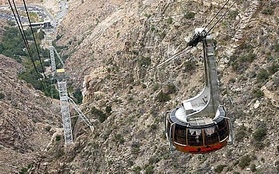 Palm Springs Aerial Tramway Records 20 Million Riders