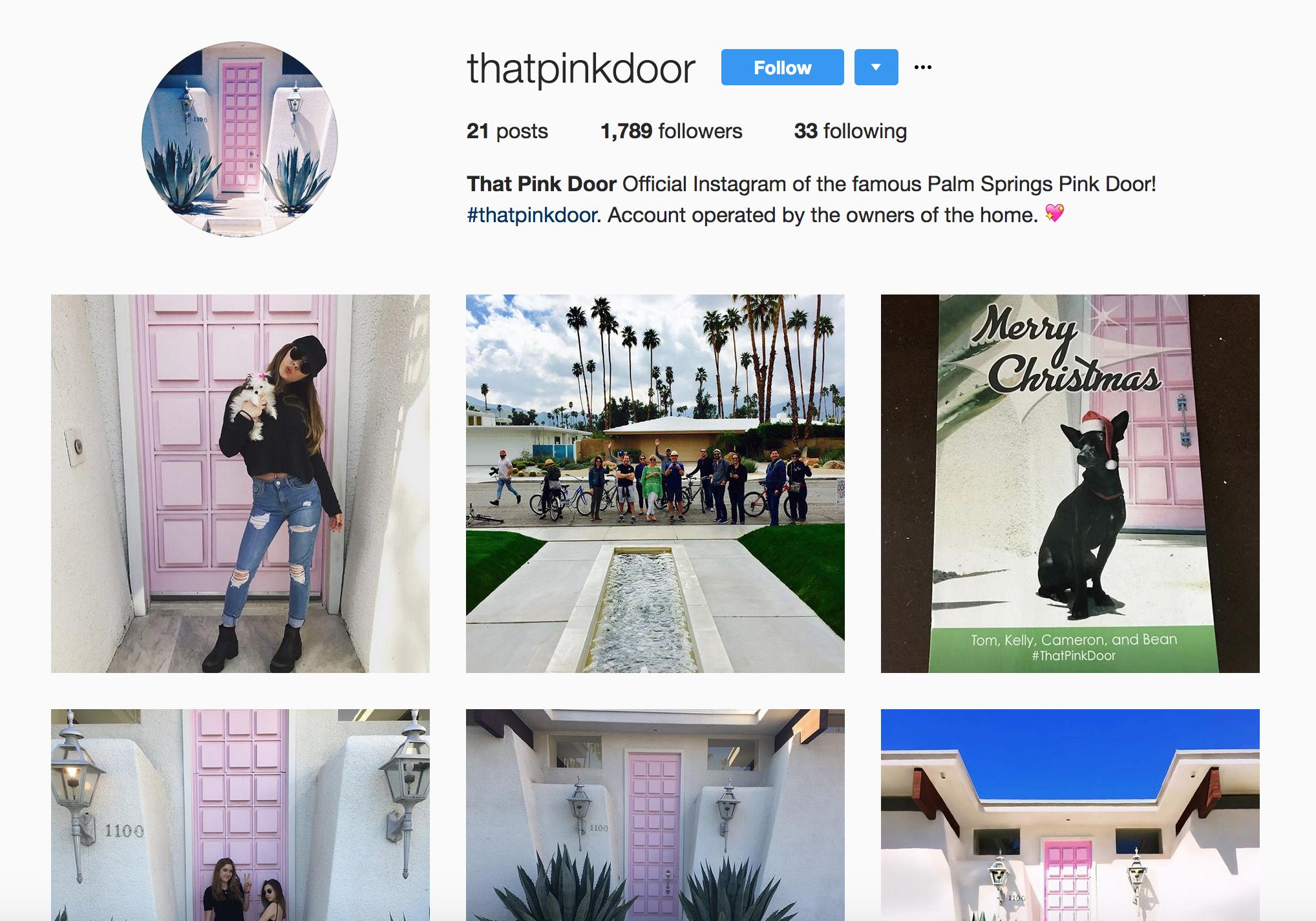 Instagram | @ThatPinkDoor