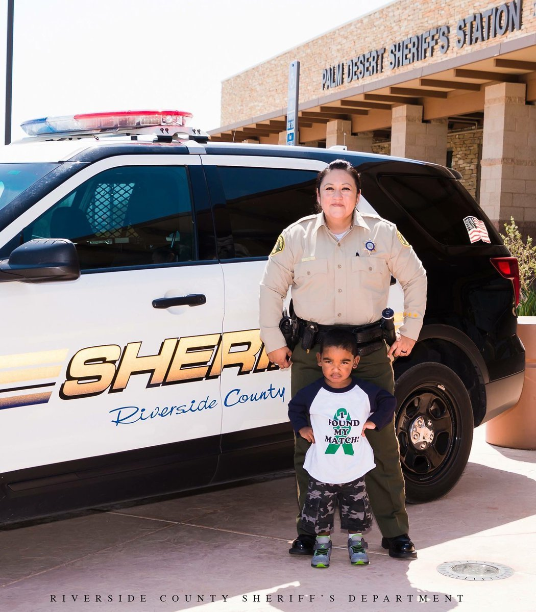 Riverside County Sheriff's Deputy Alicia Lopez will be donating her kidney to Matthew Castleberry Jr. ,3, the son of a former Deputy Sheriff.