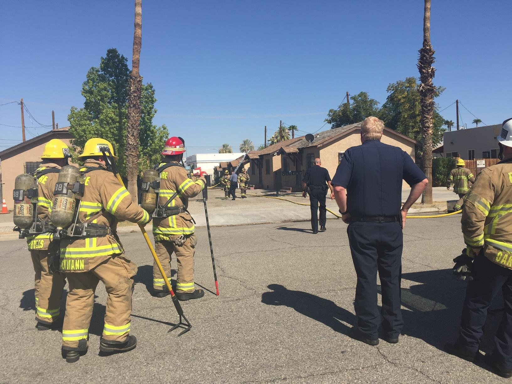 David Lee Ellis, 61 died from injuries suffered in an explosion and fire that occurred at his residence in the city of Indio.
