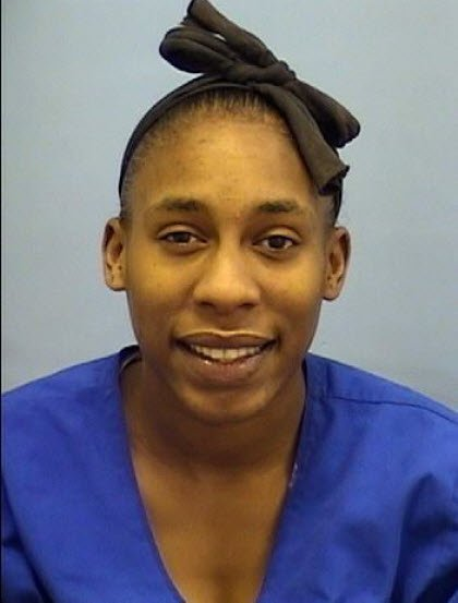 © Laria Walker-Anderson is believed to be driving the missing Kia Spectra