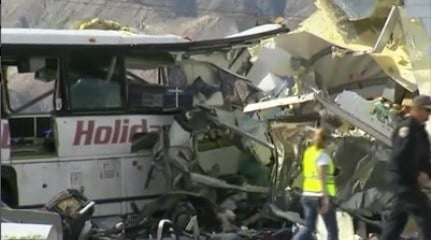 Truck Driver Charged in Connection with Deadly Palm Springs Bus Crash