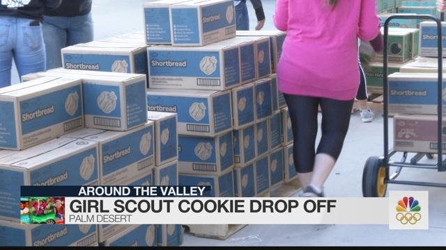 Coachella Valley Girl Scout Cookie Drop