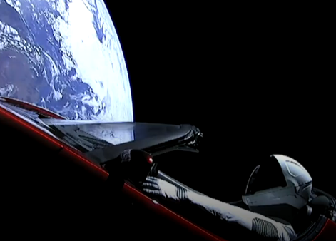 NASA is keeping tabs on Elon Musk's Tesla roadster