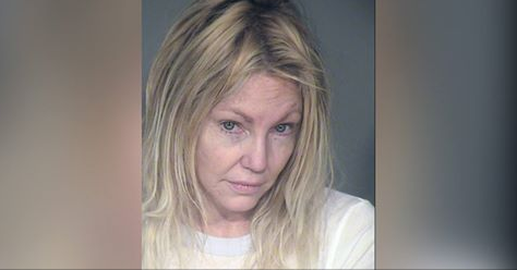 Heather Locklear Arrested for Domestic Violence & Battery on a Police Officer