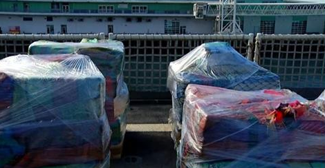 Coast Guard seizes 36000 lbs. of cocaine during Pacific drug patrol