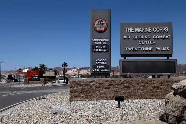 Where is 29 palms marine base located