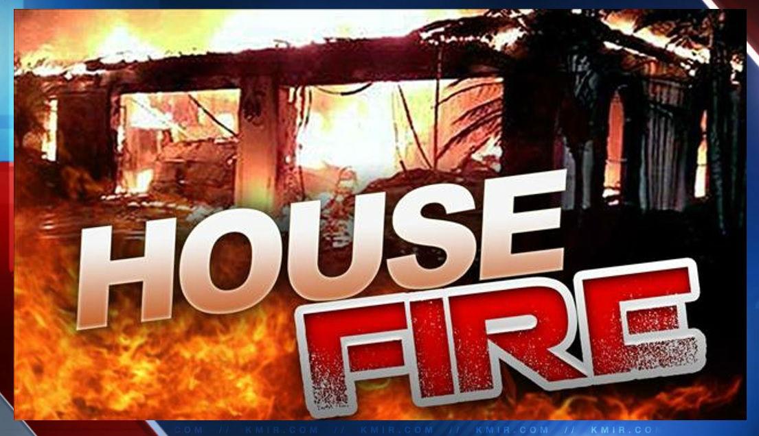 A 2 alarm fire burns Coachella home, more than 3 dozen firefighters responded to the blaze.