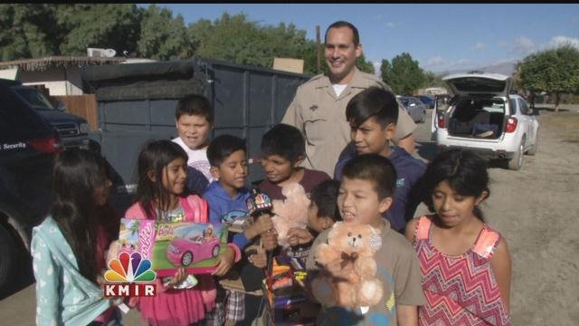 California Highway Patrol Officers Deliver Joy on ...