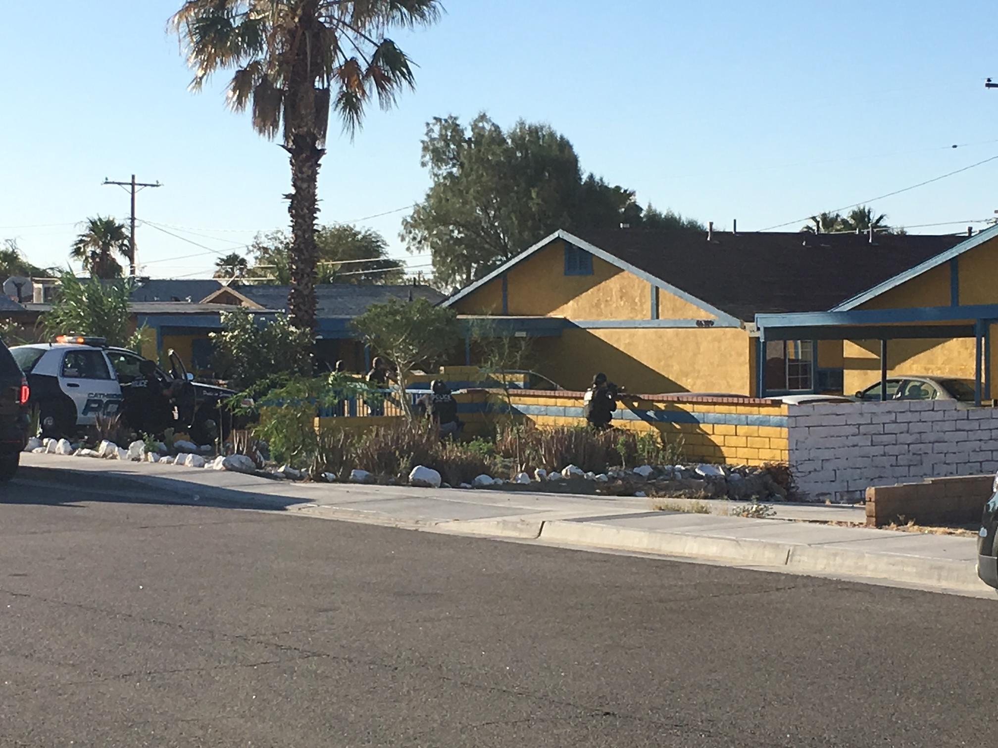 Law Enforcement Agencies Serve a Series of Gang Associate Warran - Palm Springs News, Weather ...