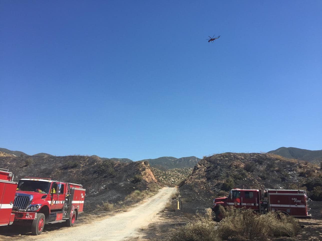 Firefighters Battle To Contain Manzanita Fire, Now At 86% ...
