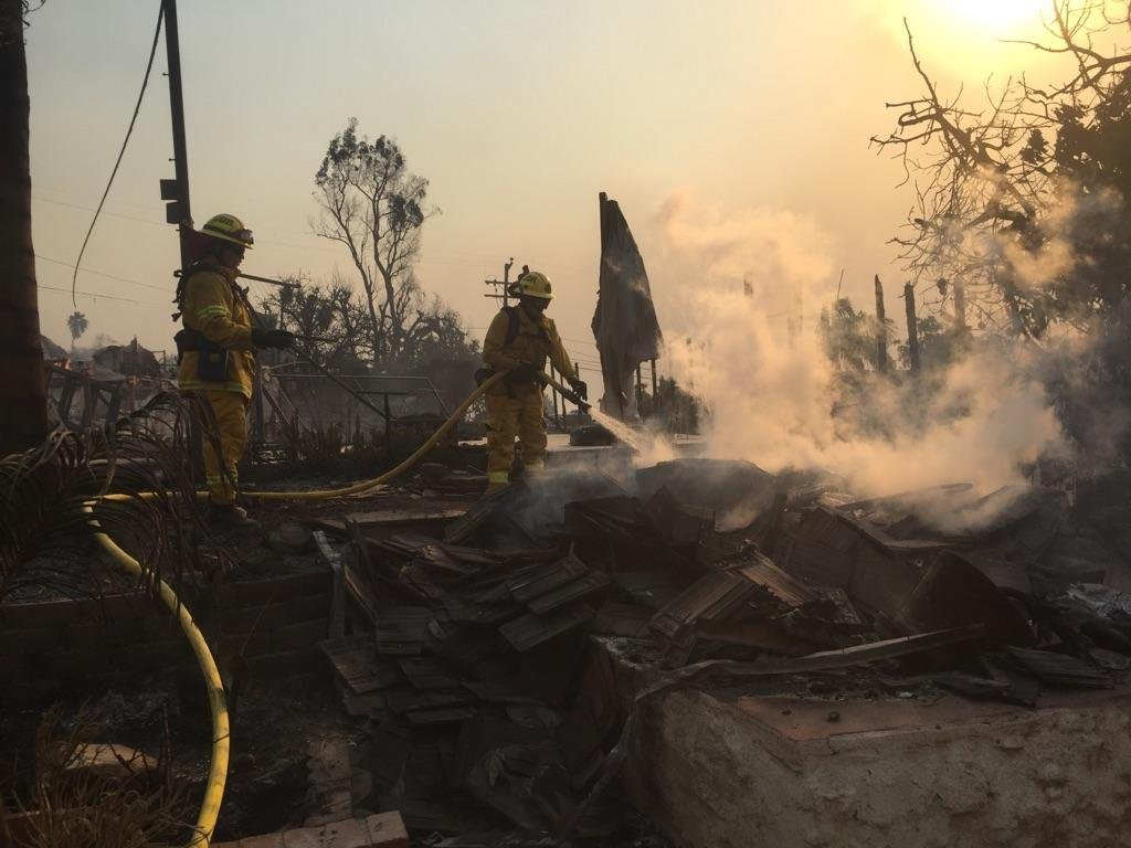 Cathedral City Fire Department Sends Engine to Fight Thomas Fire - Palm Springs News, Weather ...