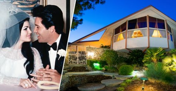 Photos: Inside Elvis and Priscilla Presley's Palm Springs ...