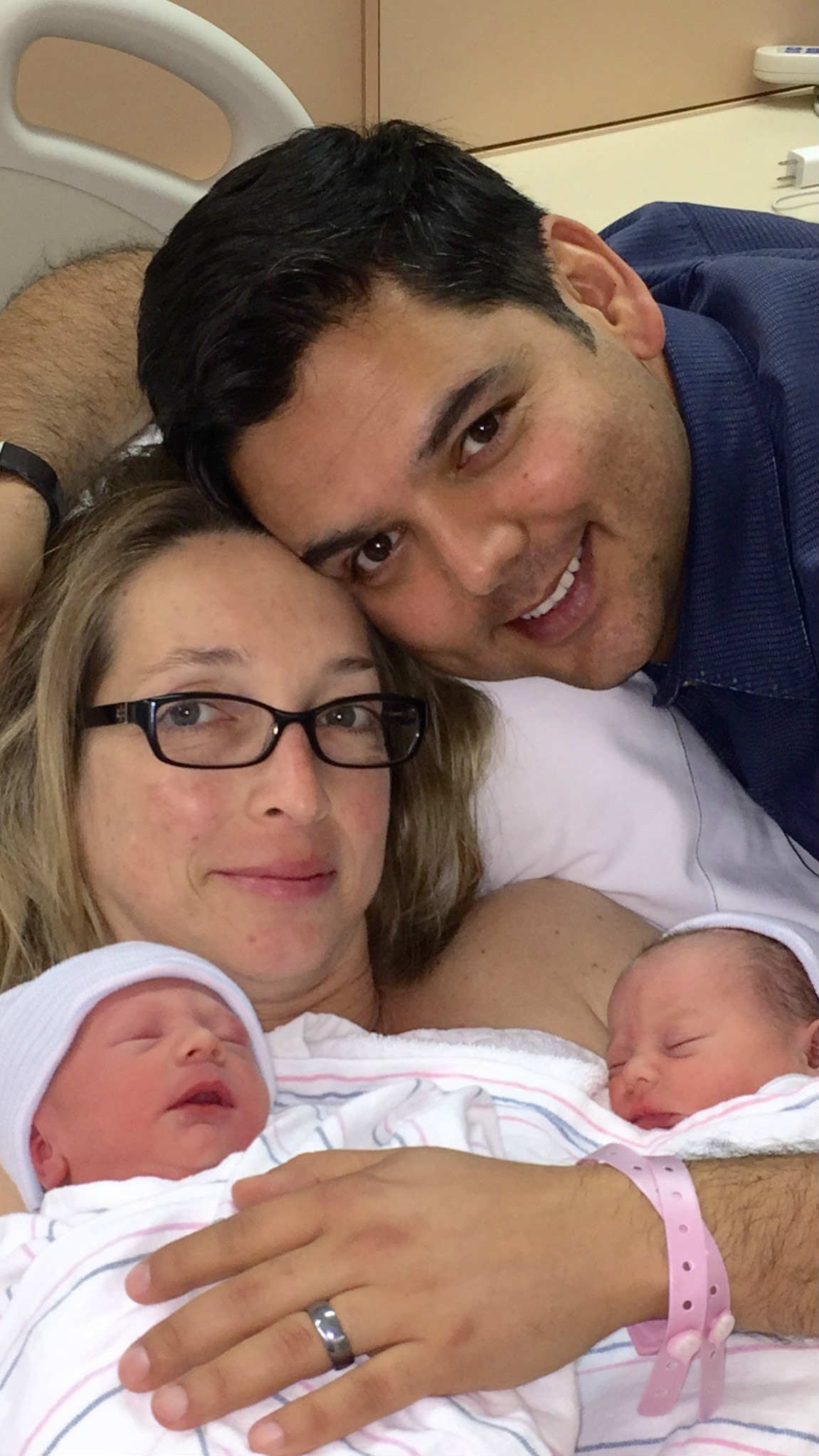 Rep. Raul Ruiz & Wife Announce Birth of Twins - Palm ...