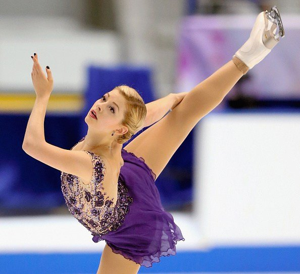 Olympian Gracie Gold Trains At Desert Ice Castle - Palm Springs News, Weather, Traffic, Breaking ...