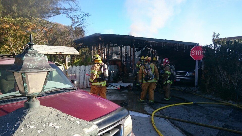 One Person Dead in Mobile Home Fire - Palm Springs News, Weather, Traffic, Breaking News